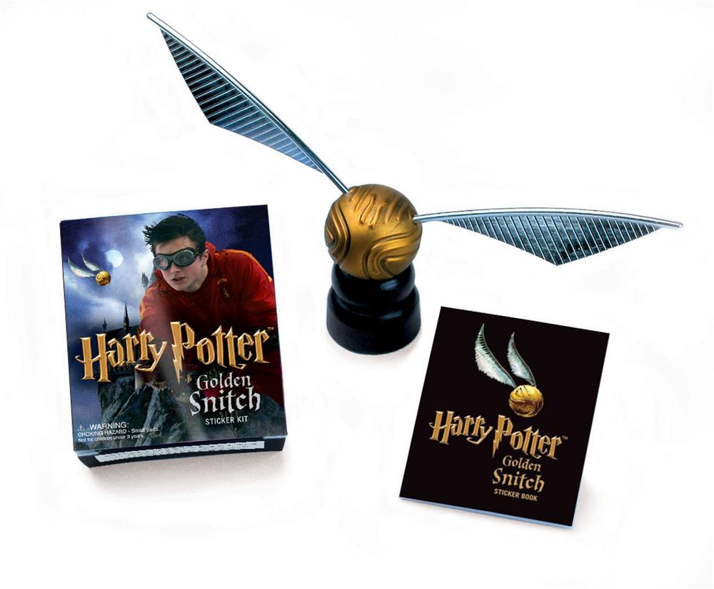 Harry Potter Golden Snitch Sticker Kit With Golden Snitch