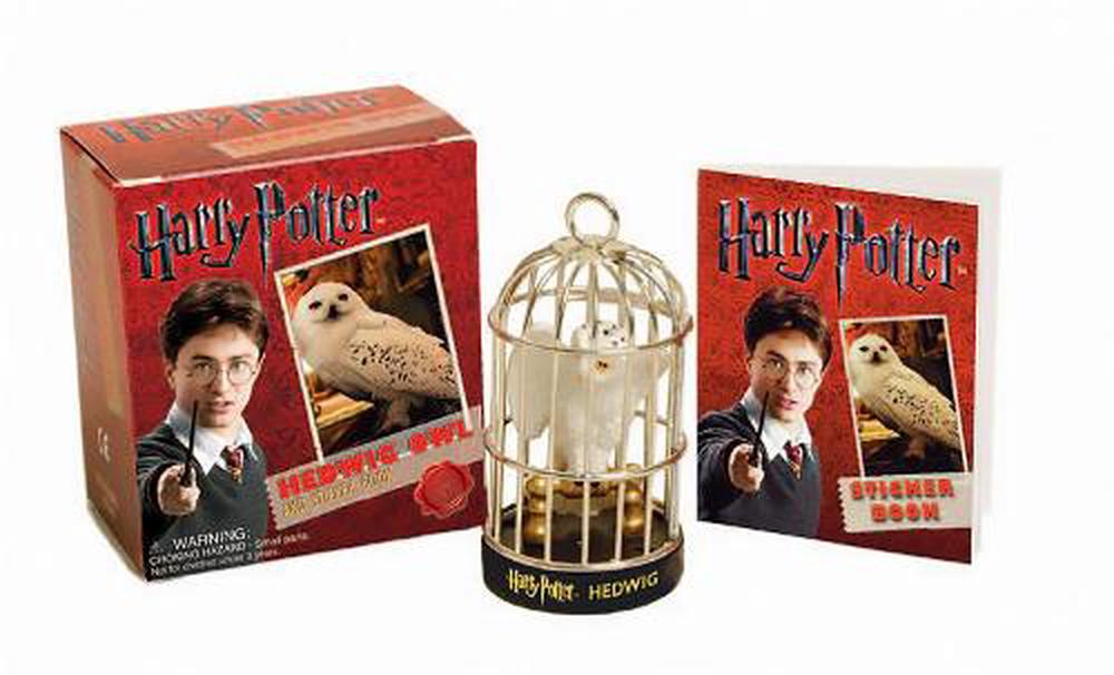Harry Potter Hedwig Owl Kit and Sticker Book [With Hedwig Owl]