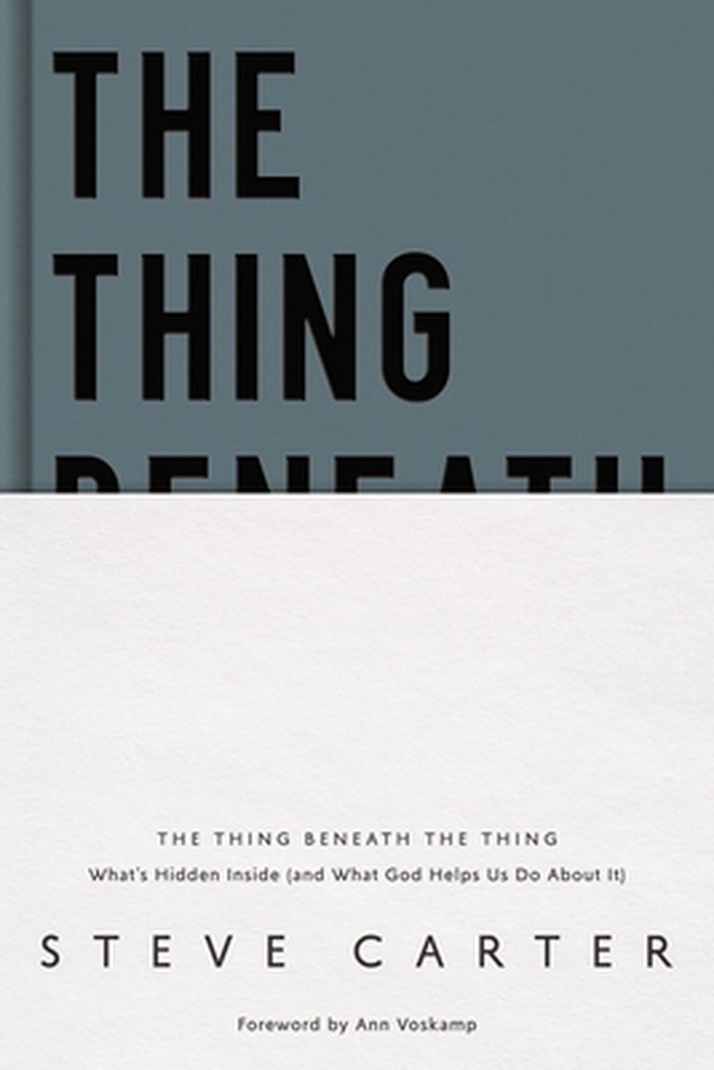 Thing Beneath the Thing