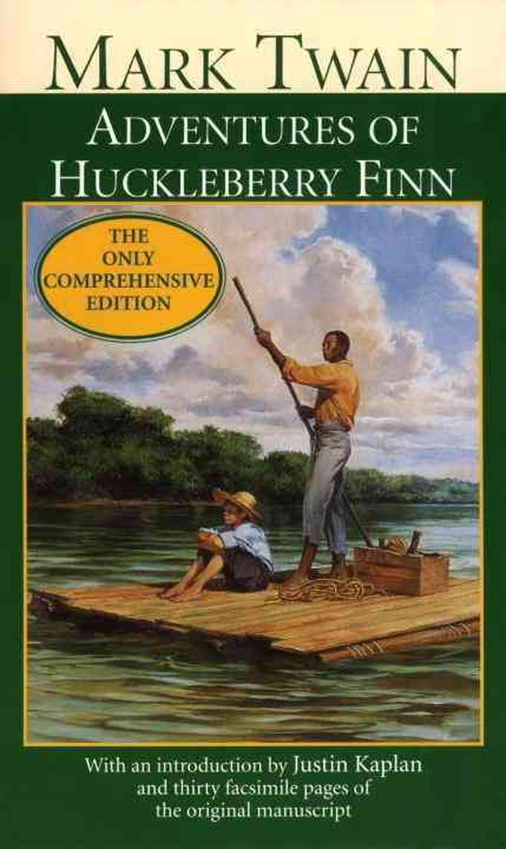 an analysis of mark twains novel the adventures of huckleberry finn When considering mark twain's attitude towards slavery, it is important to remember that twain wrote the adventures of huckleberry finn between 1876 and 1883, after the american civil war, but the setting for the novel was pre-war.