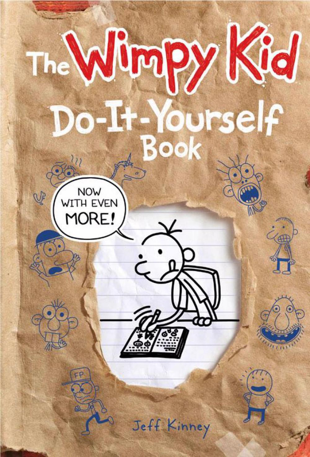 The wimpy kid do it yourself book by jeff kinney hardcover the wimpy kid do it yourself book solutioingenieria Gallery