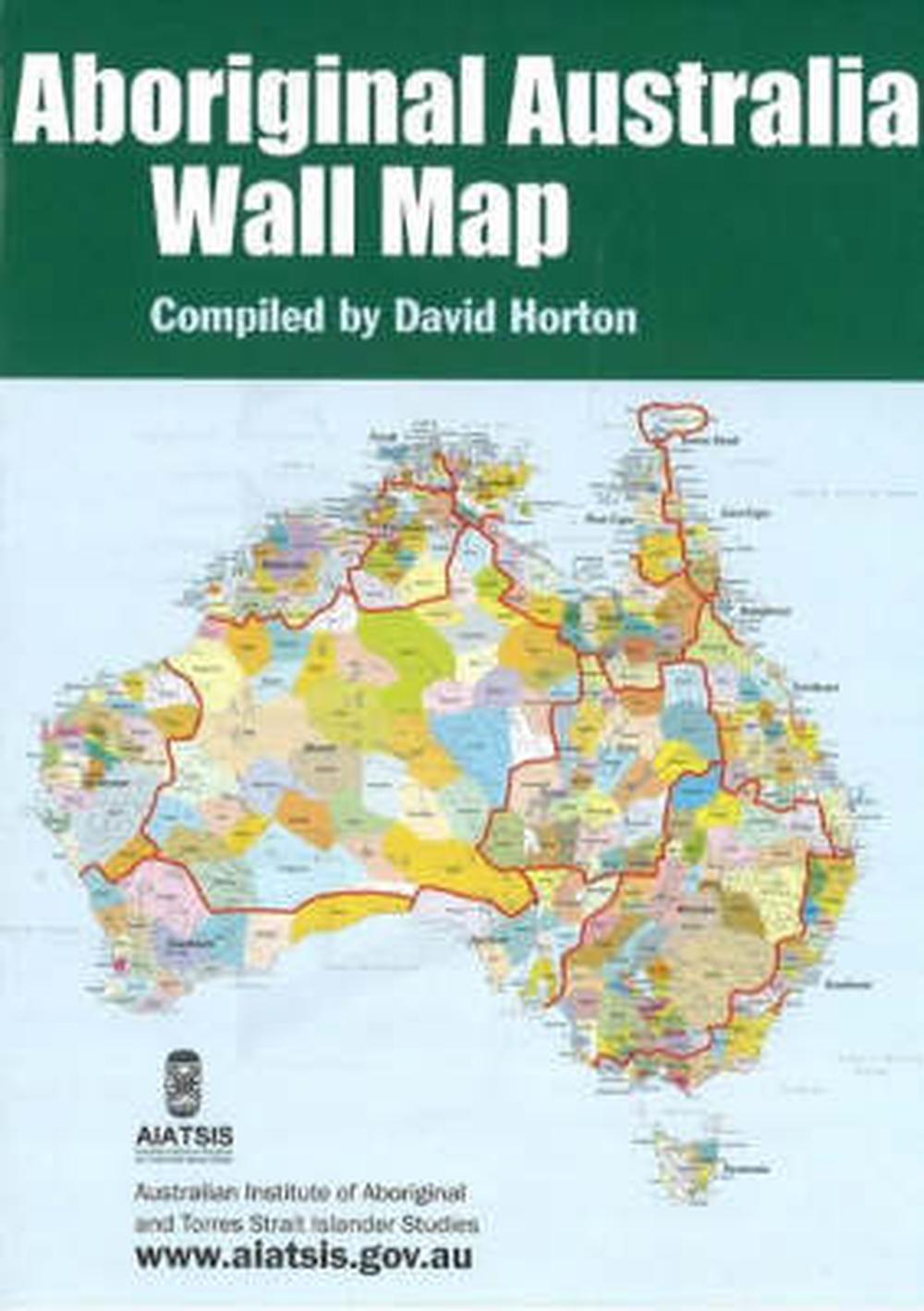 Buy Map Of Australia.Aboriginal Australia Wall Map By David Horton Paperback