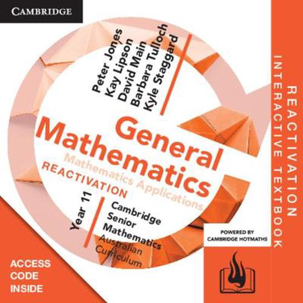 CSM AC General Mathematics Year 11 Reactivation (Card)