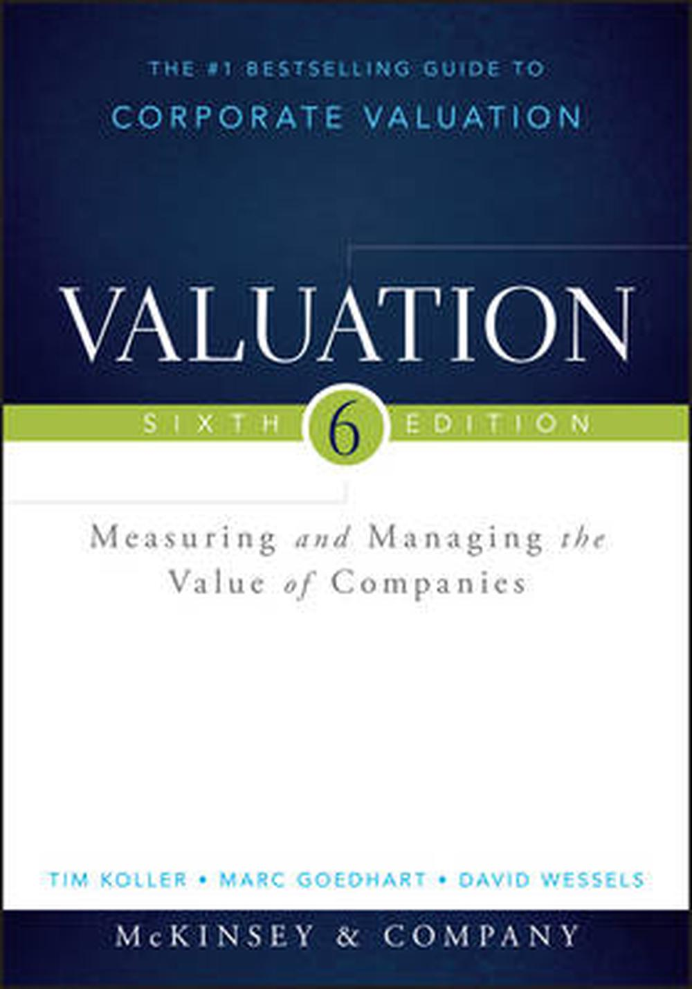 valuation mckinsey 6th edition pdf download