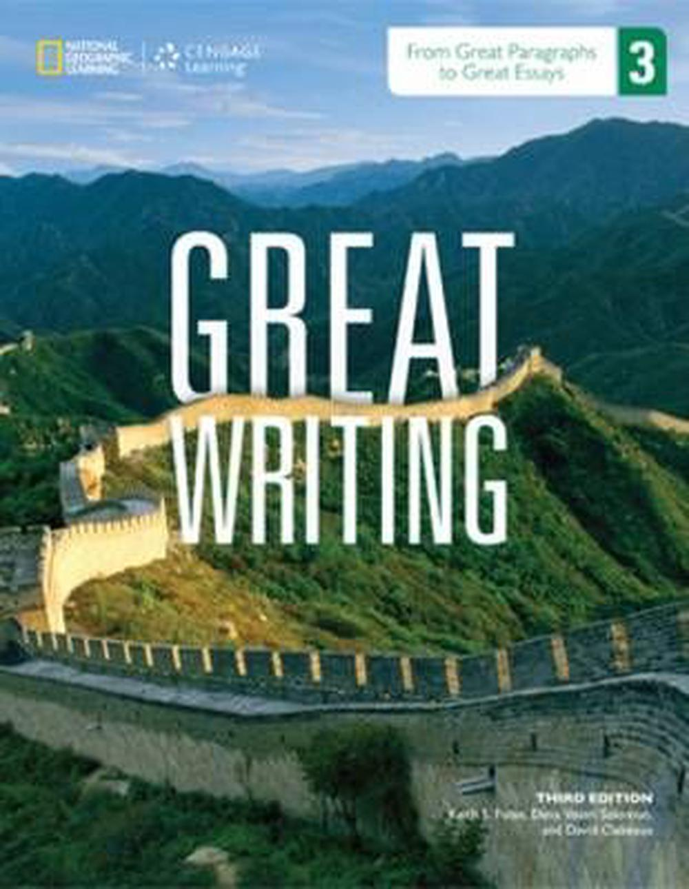 great writing 3 from great paragraphs to great essays 3rd edition Great writing bridges the gap from esl writers to mainstream writersthe great writing series uses clear explanations and extensive practical activities to help students write great sentences, paragraphs, and essays.
