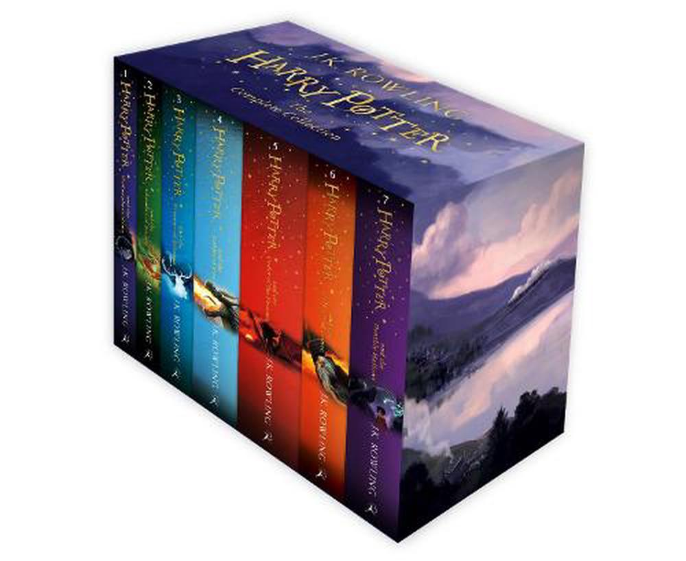 Harry Potter: The Complete Collection Box Set (Paperback Edition)