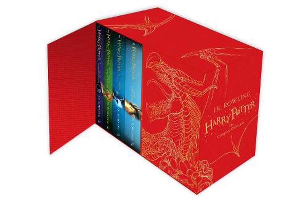 Harry Potter Hardback Boxed Set: The Complete Collection