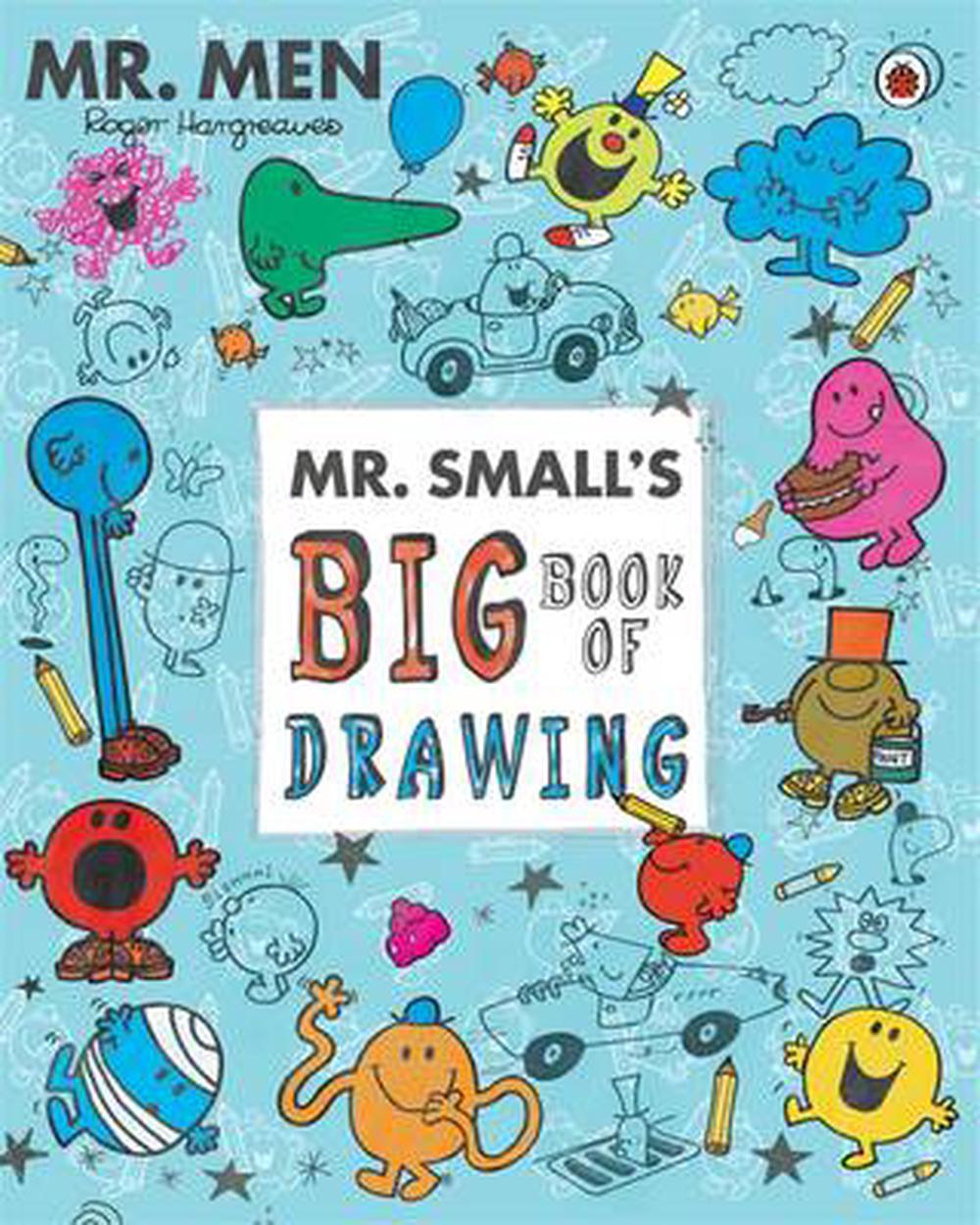 Mr Men and Little Miss: Mr Small's Big Book of Drawing