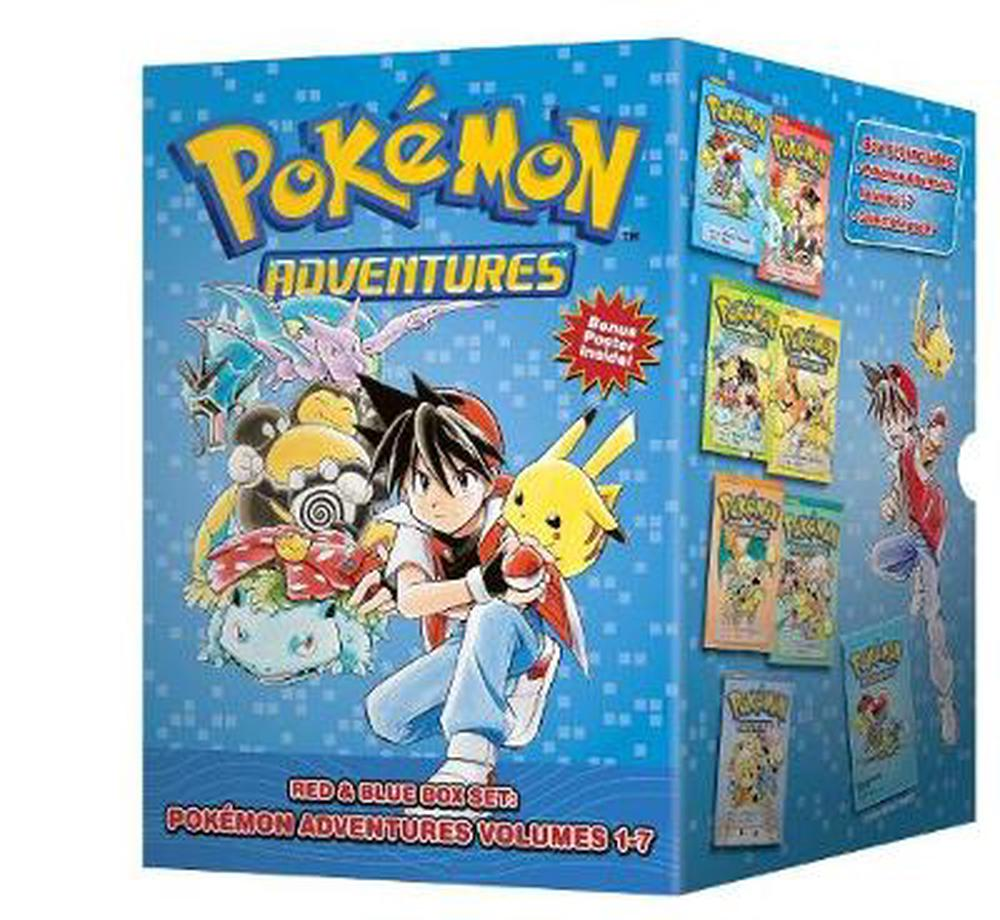 Pokemon Adventures Red & Blue Box Set: Volumes 1-7