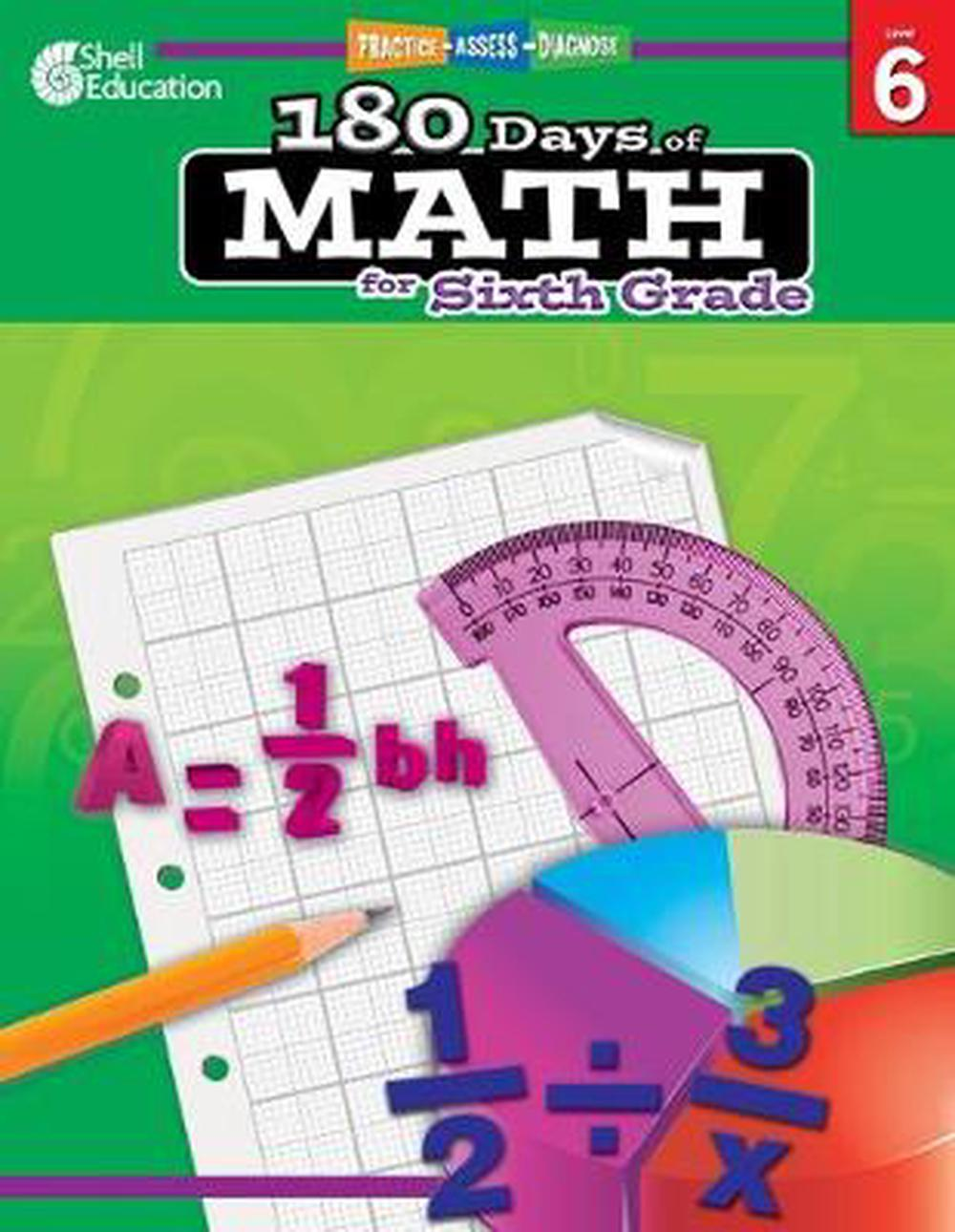 180 Days of Math for Sixth Grade [With CDROM]