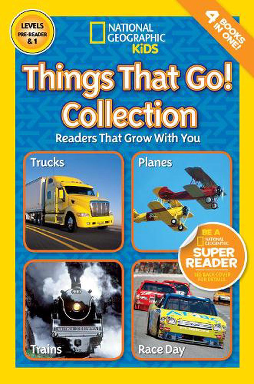 National Geographic Kids Readers: Things That Go Collection