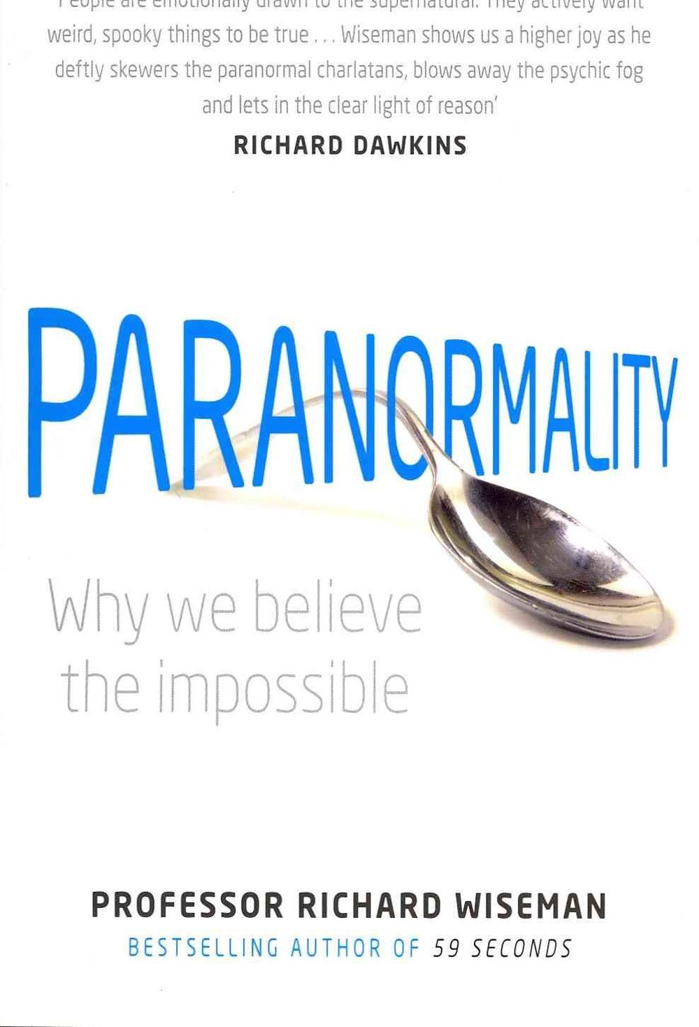 59 Seconds Richard Wiseman paranormality