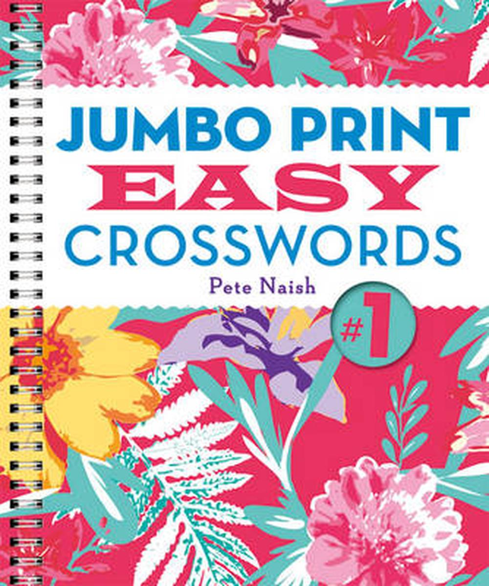 Jumbo Print Easy Crosswords No. 1