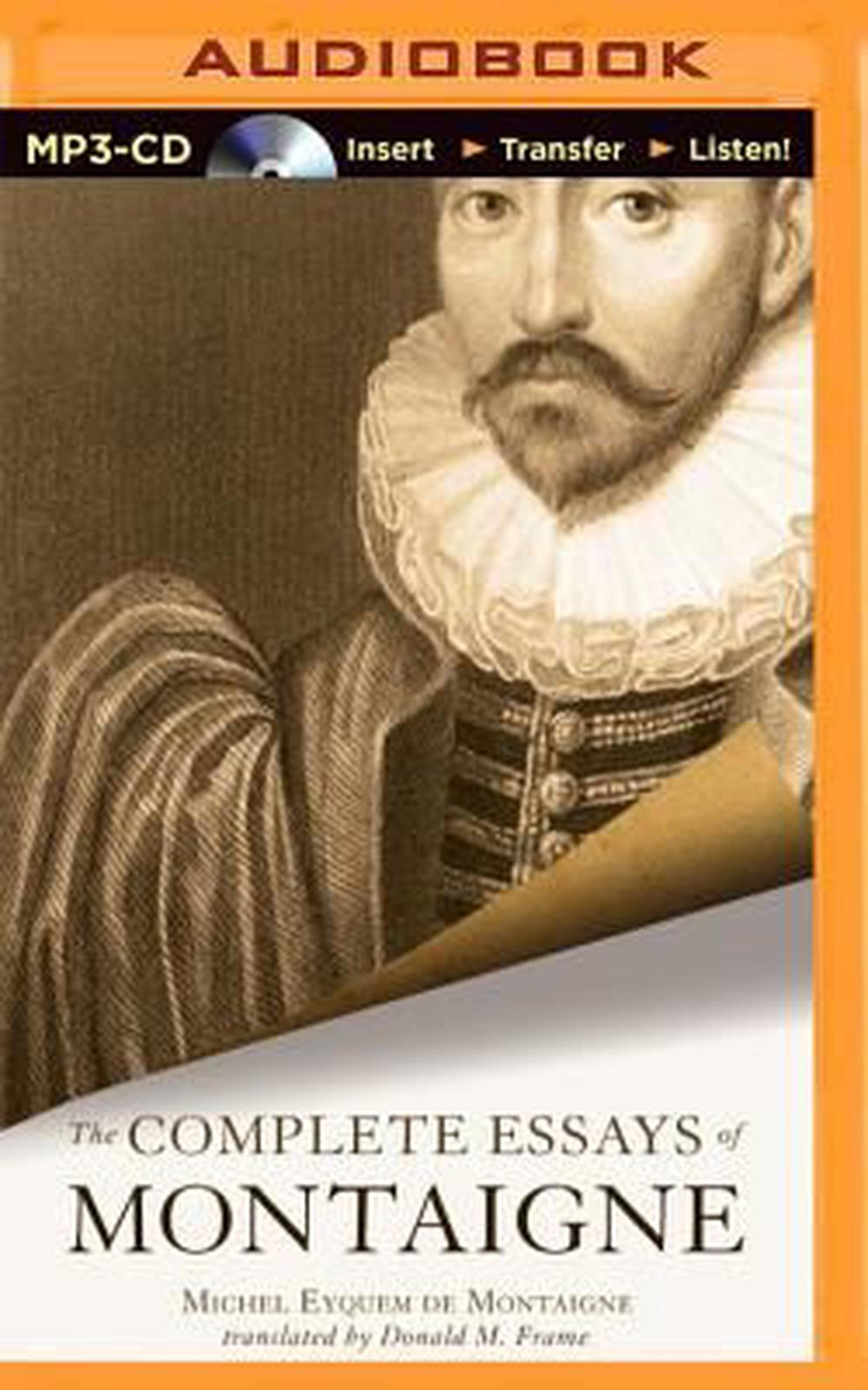 the complete essays michel de montaigne Buy the complete essays by michel de montaigne, m a screech (isbn: 8601410811440) from amazon's book store everyday low prices and free delivery on.