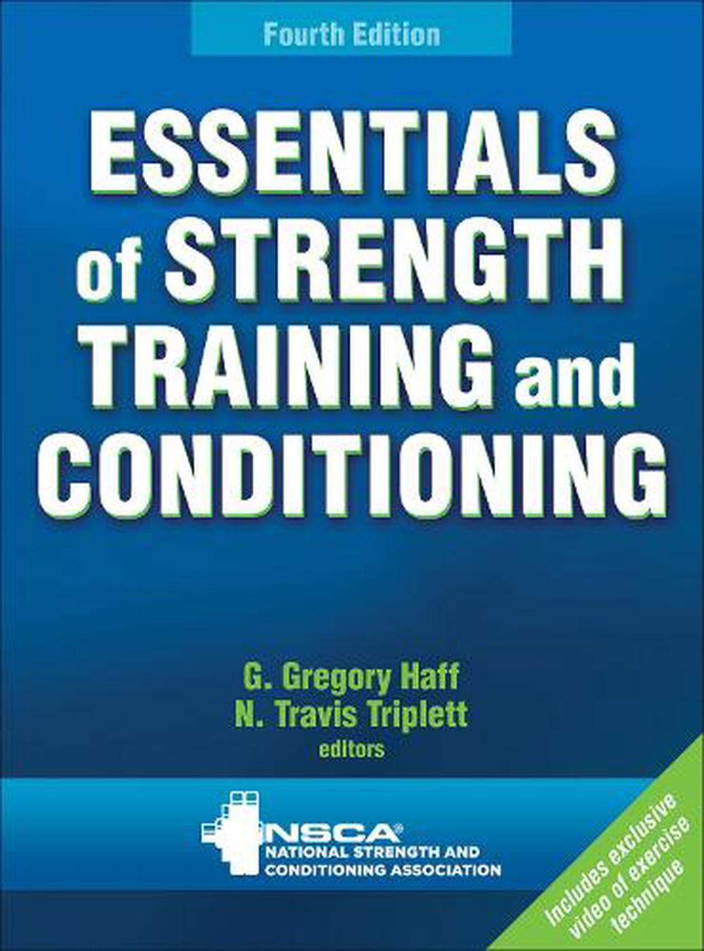 Essentials of Strength Training and Conditioning With Web Resource, 4th Edition