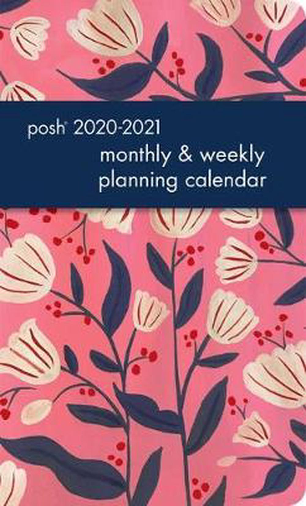 Posh: Tulip Love 2020-2021 Monthly/Weekly Planning Calendar
