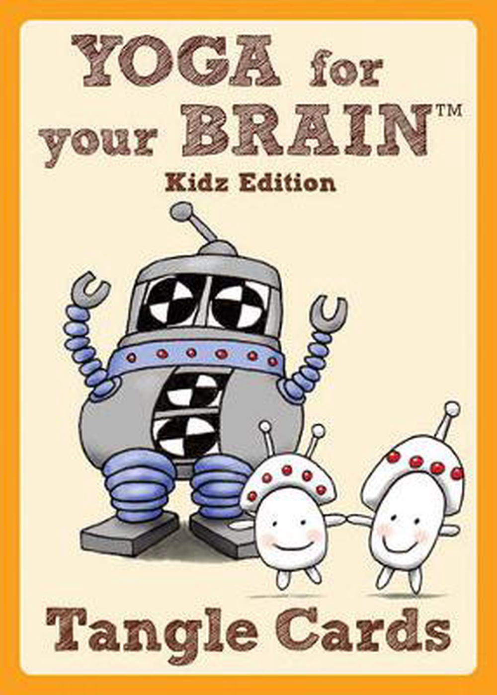 Yoga for Your Brain Tangle Cards Kidz Edition