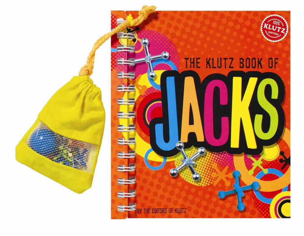 The Klutz Book of Jacks [With Multi-Colored Jacks, Rubber Ball, Fabric Pouch]