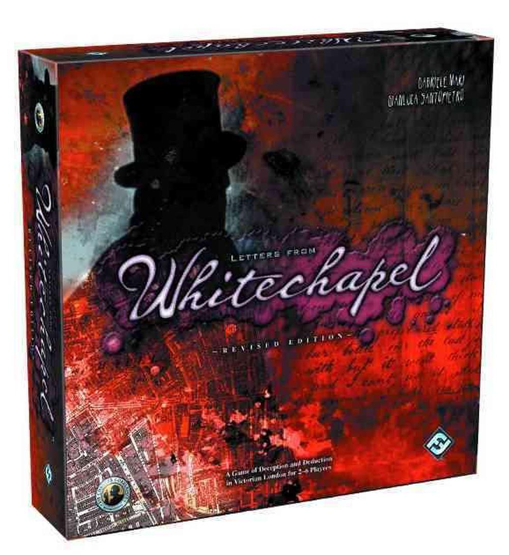 Fantasy Flight Games Letters from Whitechapel: A Jack the Ripper Board Game