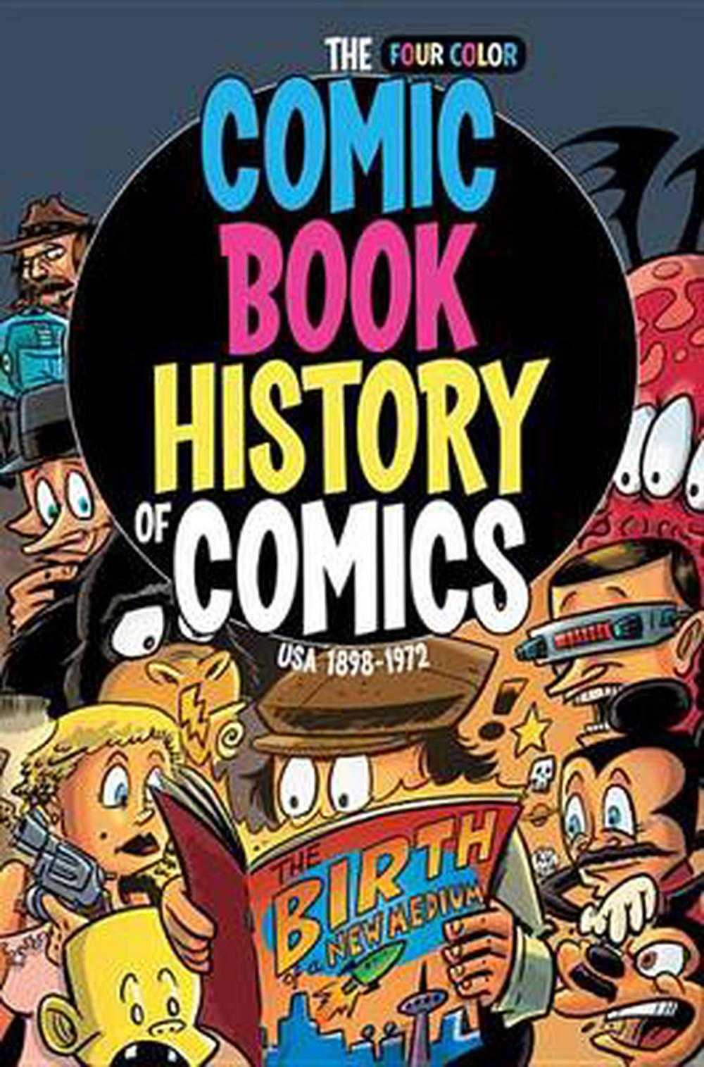 Comic Book History of Comics Usa 1898-1972
