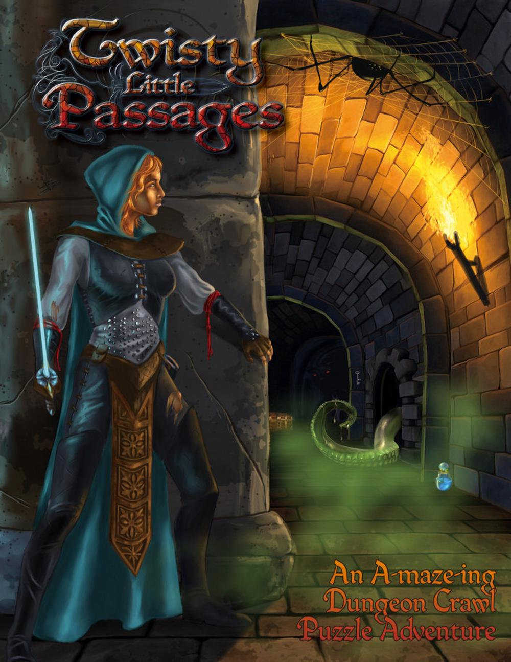 Twisty Little Passages: An a-Maze-Ing Dungeon Crawl Puzzle Adventure