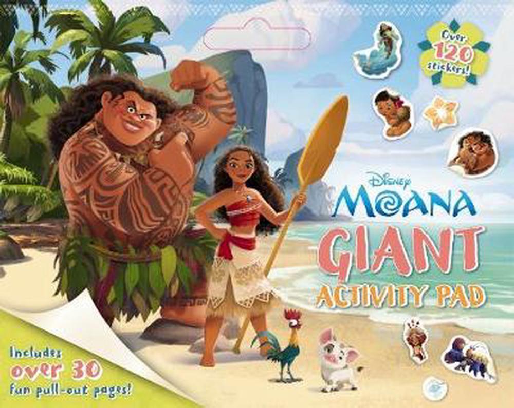 Disney: Moana Giant Activity Pad