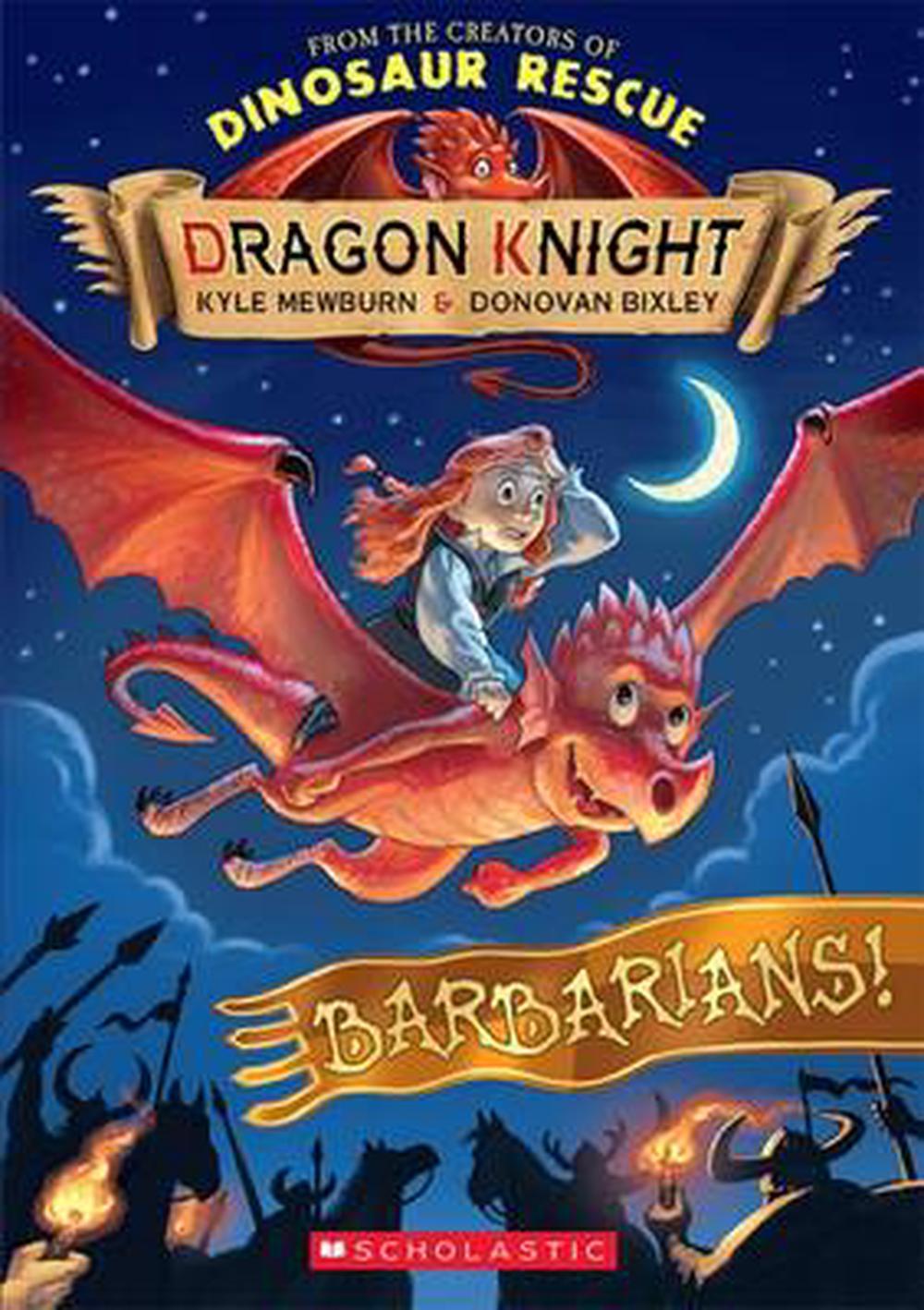 Dragon Knight: #6 Barbarians!