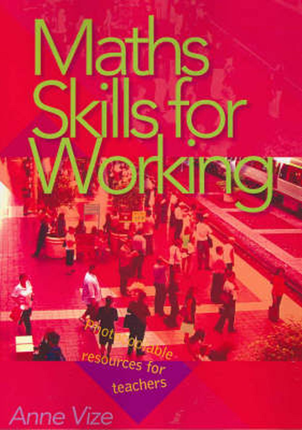 Maths Skills for Working by Anne Vize, Paperback, 9781876580858 ...