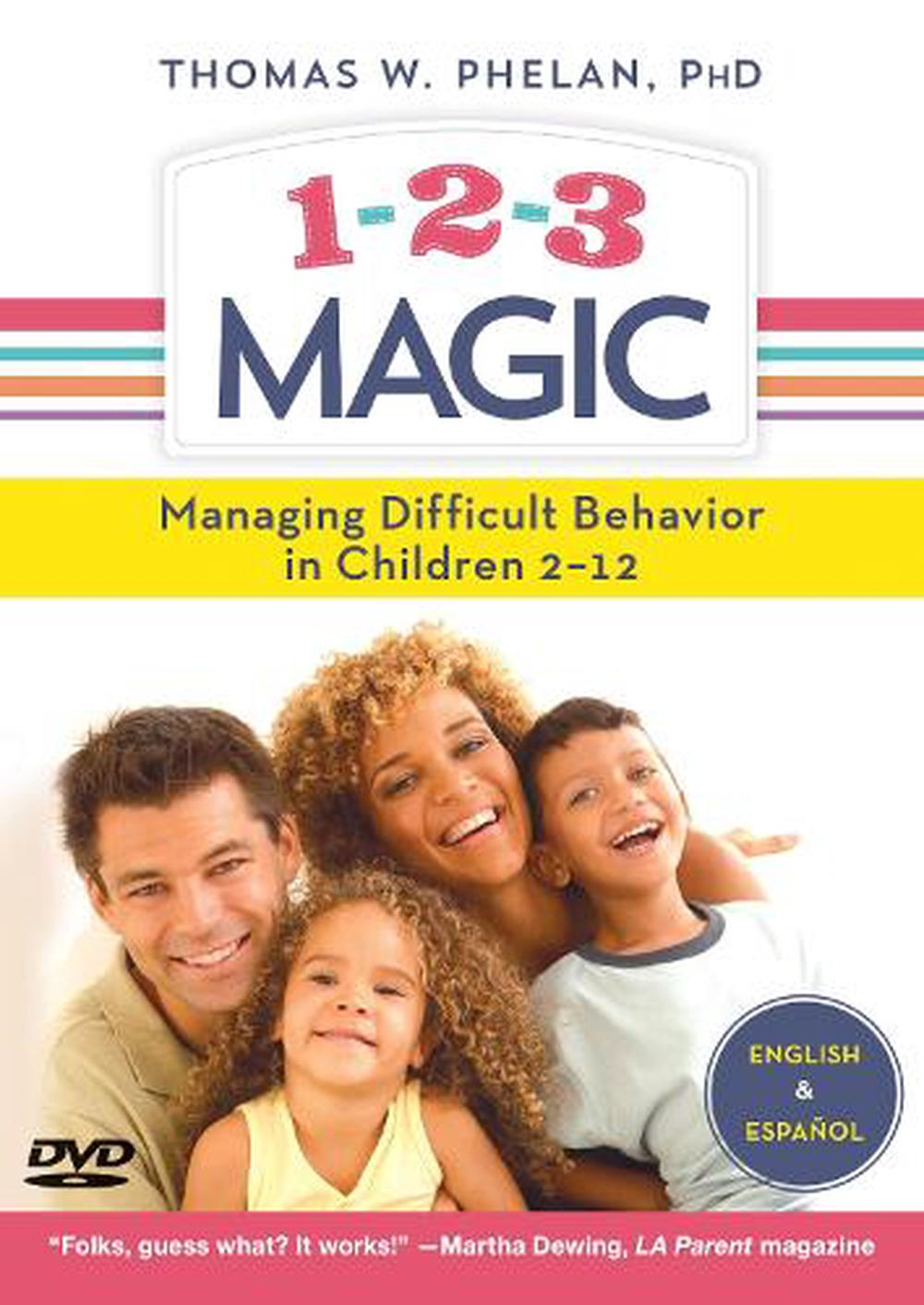 1-2-3 Magic (DVD): Managing Difficult Behavior in Children 2-12
