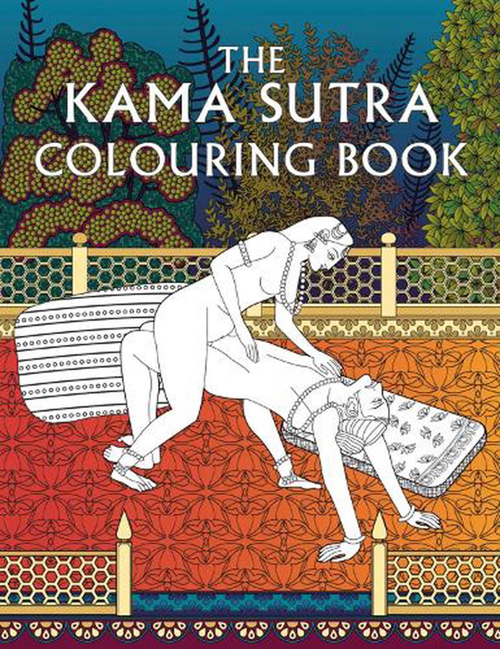 Kama Sutra Colouring Book