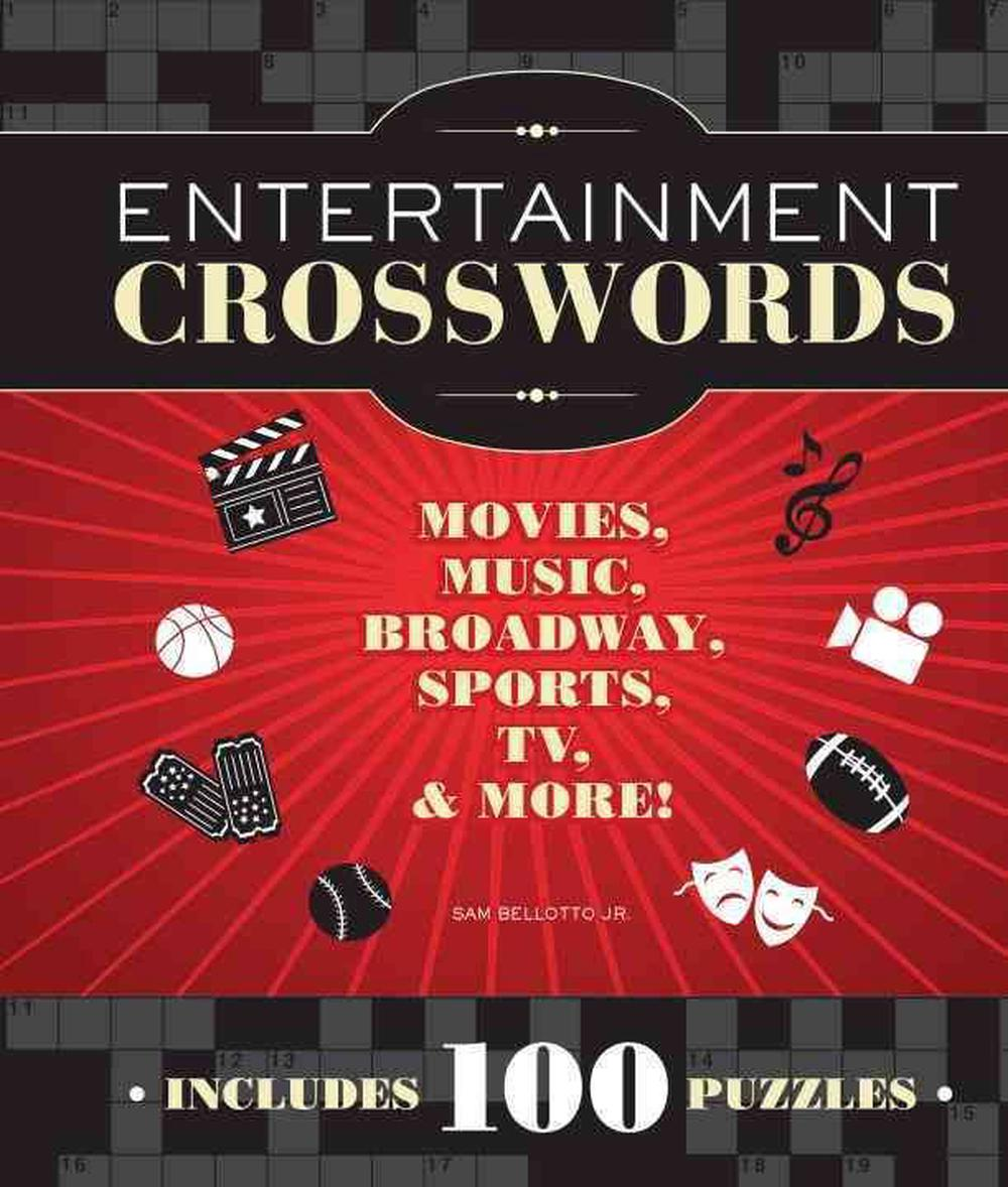 Entertainment Crosswords: Movies, Music, Broadway, Sports, TV, & More!