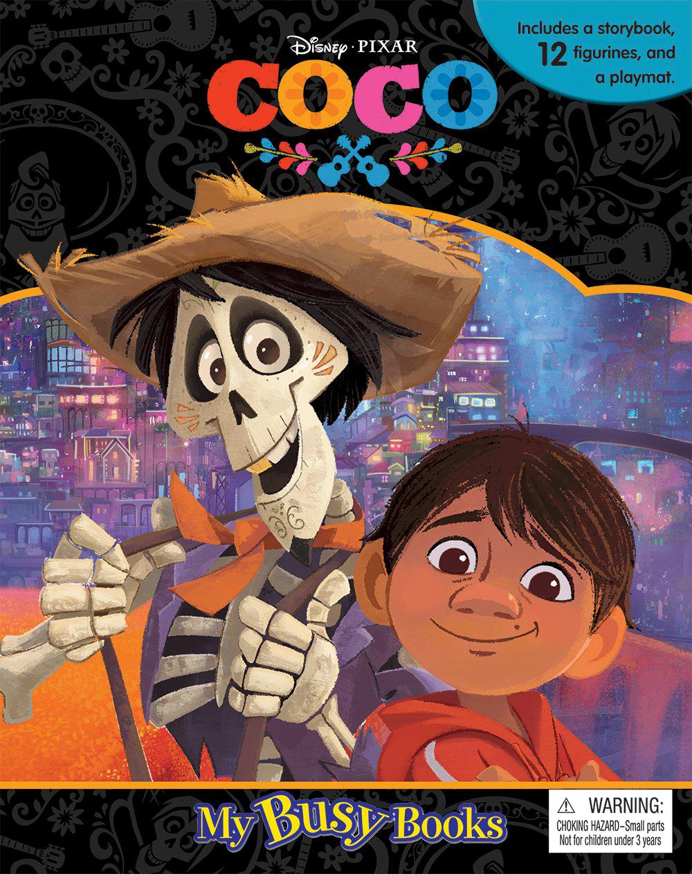 My Busy Book: Disney Pixar Coco