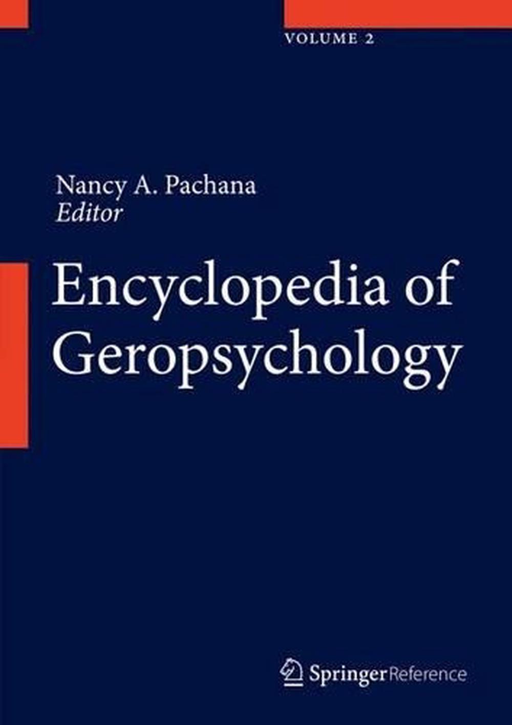 Encyclopedia of Geropsychology