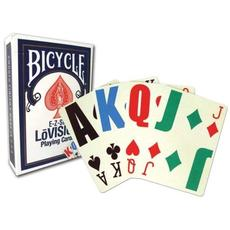 Bicycle E-Z See/Lo Vision Jumbo Index Playing Cards