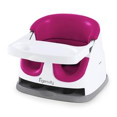 Ingenuity Baby Base Smaller Cube Booster Seat (Pink Flambe)