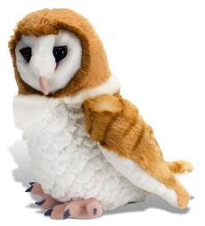 Wild Republic Cuddlekins Barn Owl 12 Inch Plush