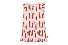 Wild Republic Printed Kids Dress (Meerkat) - Size 6