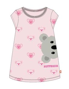 Wild Republic Kids Dress With Australia Thread (Koala) - Size 2