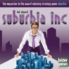 Bezier Games Suburbia Suburbia Inc Board Game Expansion