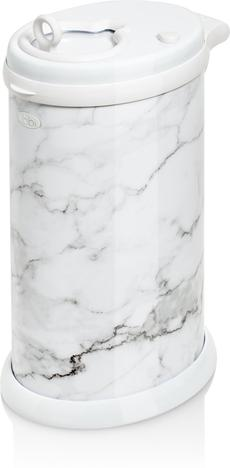 Ubbi Steel Nappy Disposal System (Marble)