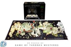 4D Cityscape Game of Thrones: Westeros Jigsaw Puzzle, 1400 Piece