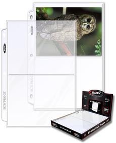 "BCW 2 Pocket Protective Pages Photos, 100 Pages Per Box (5"" 1/2 x 8"" 3/16)"