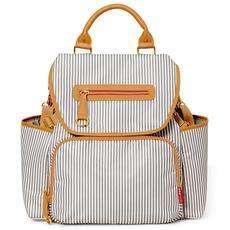 Skip Hop Grand Central Diaper Backpack (French Stripe)