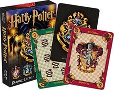 Aquarius Harry Potter Crests Playing Cards