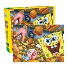 Aquarius SpongeBob SquarePants Cast Puzzle, 500 Piece