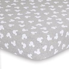Disney Baby Fitted Sheet (Mod Mickey Grey Marle)