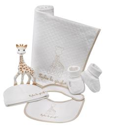 Vulli Sophie The Giraffe So Pure Cosy Baby 'My Birth Outfit' Newborn Gift Set
