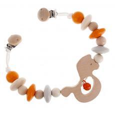 Hess-Spielzeug Pram Chain (Natural Orange)