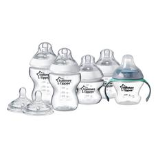 Tommee Tippee Closer To Nature Bottle Feeding Starter Kit: Includes Bottles and Teats