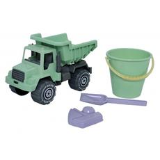 Plasto I Am Green Sand Set with Tipper Truck, 4 Pieces